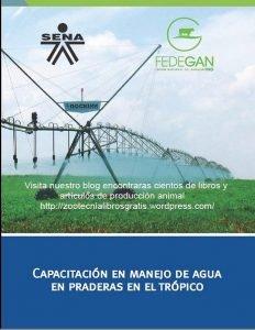 Cartilla sobre el Capacitacion manejo agua