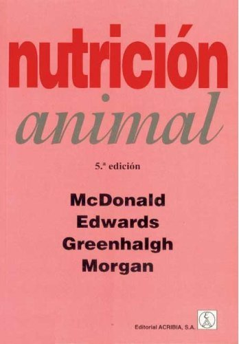 Nutrición animal Mc Donald