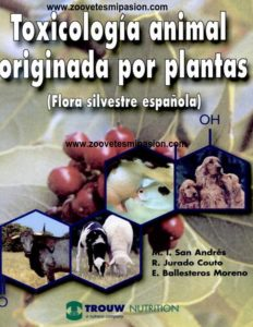 Toxicologia animal originada por plantas