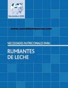 Libro Necesidades nuticionales de rumiantes de leche