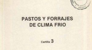 Libro Pastos y forrajes de clima frio