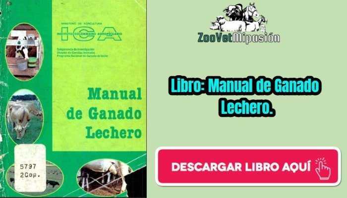 Libro: Manual de Ganado Lechero.