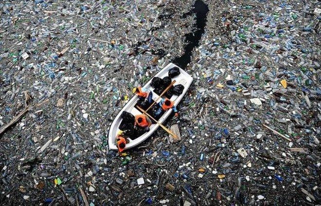 isla de plastico