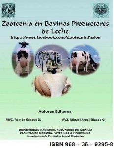 Libro zootecnia en bovinos productores de leche