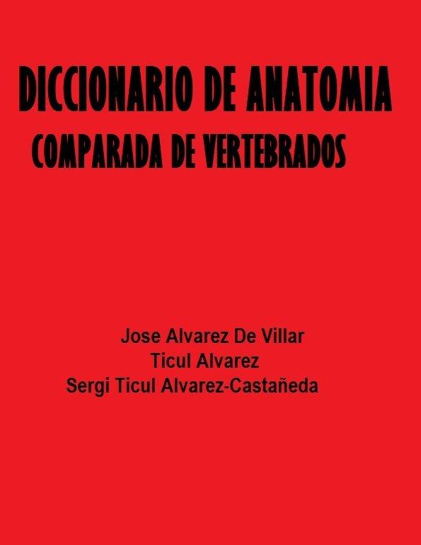 Libro diccionario de anatomía