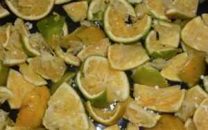 ensilaje de naranja