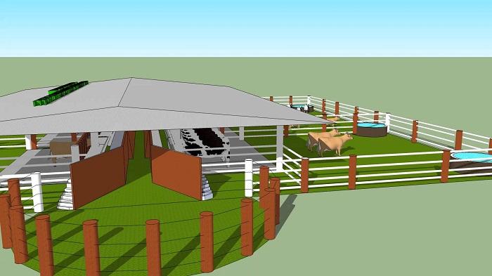 corrales para el ganado