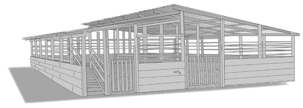Instalaciones para el ordeño de ovinos y caprinos