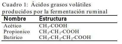 ácidos volatiles
