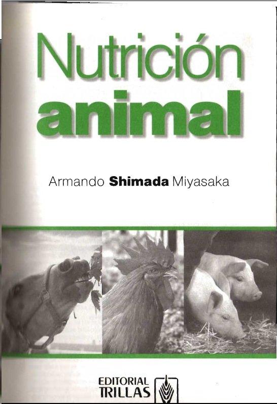 nutricion animal