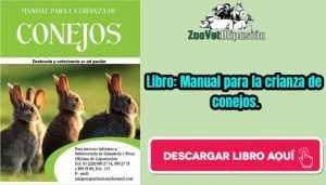 Libro: Manual para la crianza de conejos.