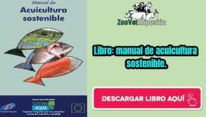 Libro: manual de acuicultura sostenible.