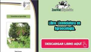 Libro: Licenciatura en Agroecología.